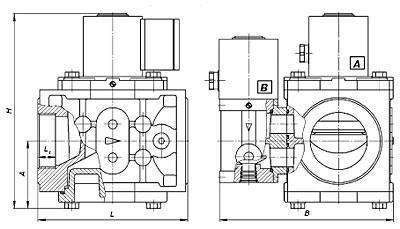 Клапан электромагнитный ВН1 1/2В-1К