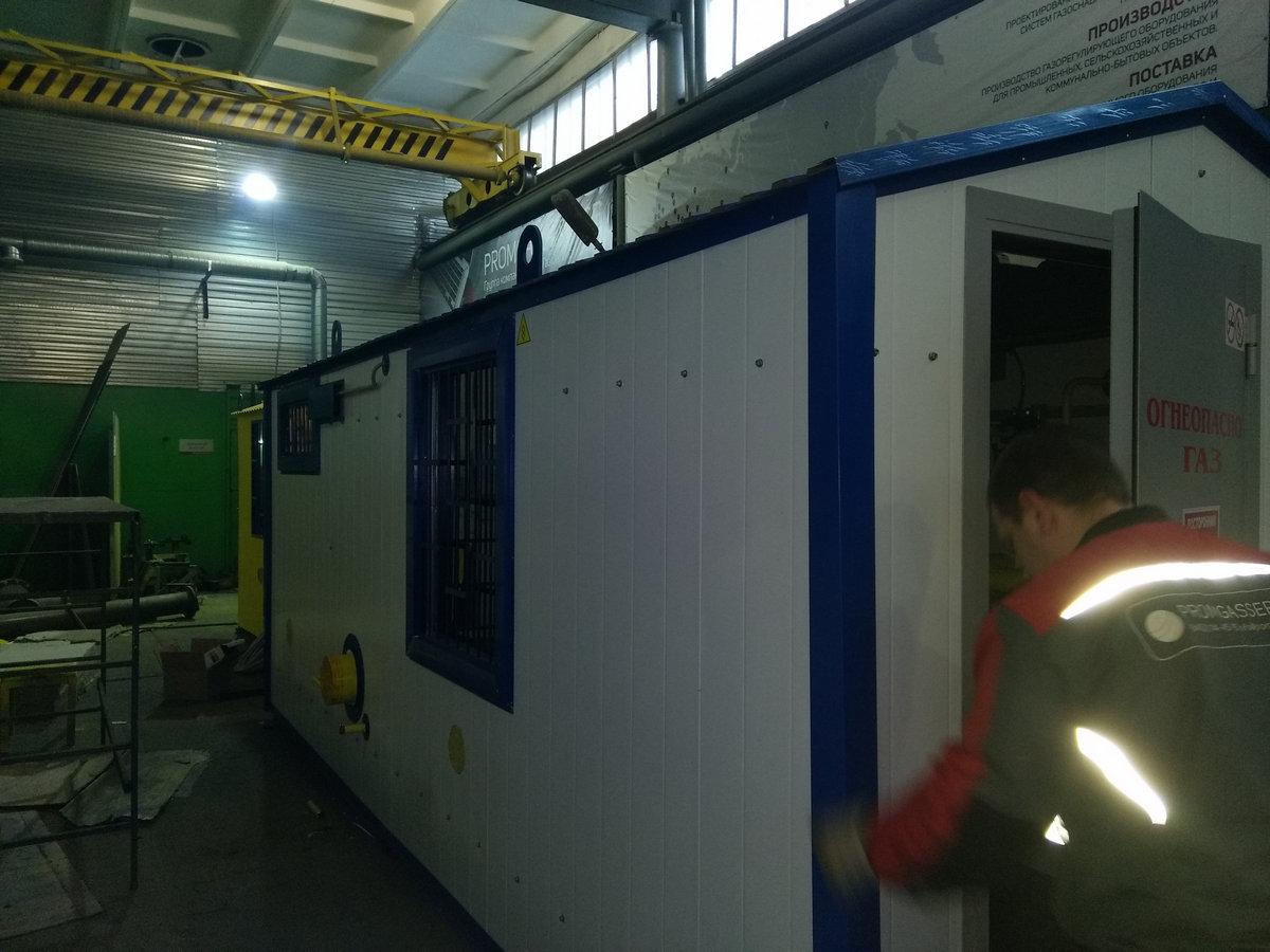Изготовлен и отгружен пункт газорегуляторный блочный Оптимус-А0966-30000